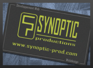 Synoptic Productions Business Card